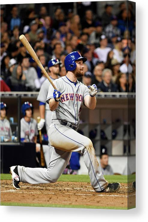 People Canvas Print featuring the photograph Daniel Murphy by Denis Poroy