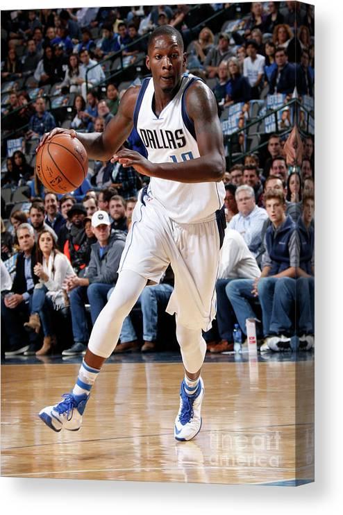 Nba Pro Basketball Canvas Print featuring the photograph Dorian Finney-smith by Glenn James