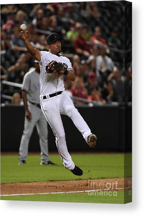 People Canvas Print featuring the photograph Eduardo Escobar by Norm Hall