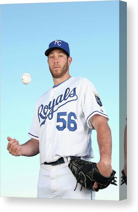 Media Day Canvas Print featuring the photograph Greg Holland by Christian Petersen
