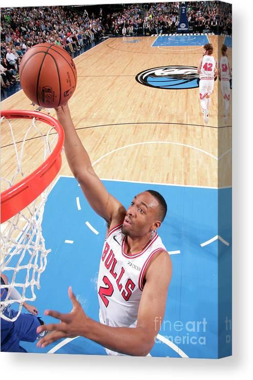 Nba Pro Basketball Canvas Print featuring the photograph Jabari Parker by Glenn James