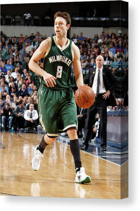 Nba Pro Basketball Canvas Print featuring the photograph Matthew Dellavedova by Danny Bollinger