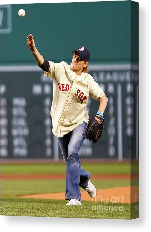 People Canvas Print featuring the photograph Ted Williams by Jared Wickerham