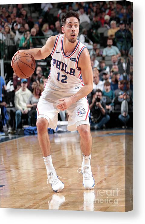 Nba Pro Basketball Canvas Print featuring the photograph T.j. Mcconnell by Glenn James