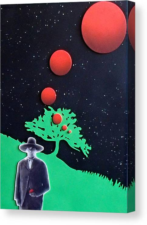 Wovoka Canvas Print featuring the painting Wovoka by Philip Fleischer
