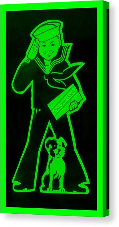 Sailor Canvas Print featuring the photograph Crackerjack Green by Rob Hans
