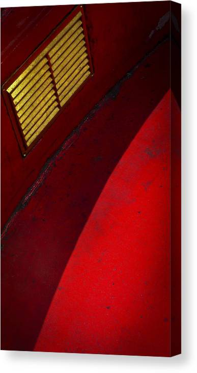Skiphunt Canvas Print featuring the photograph Foxy by Skip Hunt