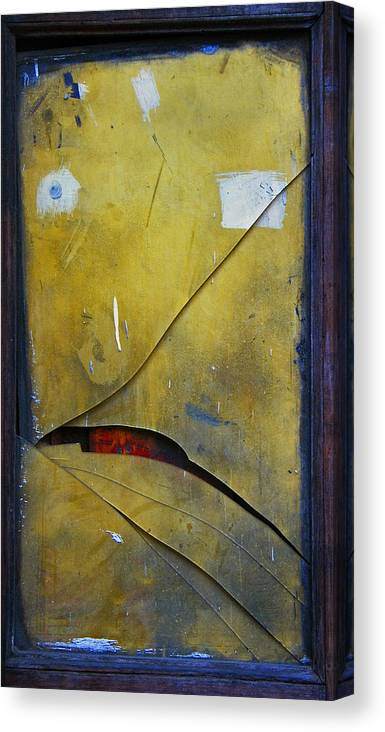 Abstract Canvas Print featuring the photograph Xalapa Miro by Skip Hunt