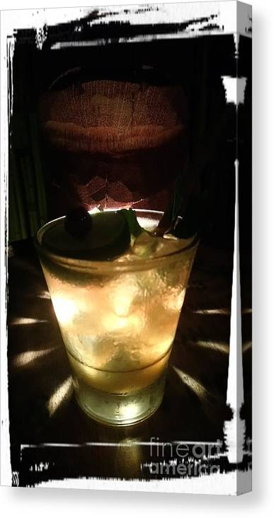 Light Canvas Print featuring the photograph Mai Tai - 1944 by Philip