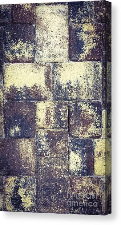 Cross Canvas Print featuring the photograph Crosswalk by Eddy Mann
