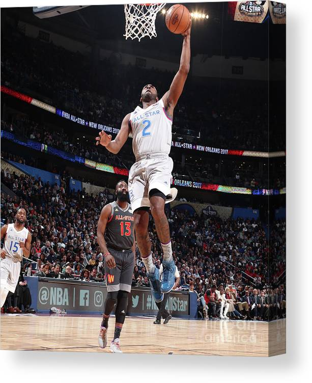 Event Canvas Print featuring the photograph John Wall by Nathaniel S. Butler
