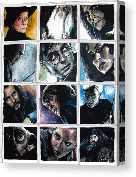 Harry potter poster print wall art decor hogwarts dobby dumbledore snape merch