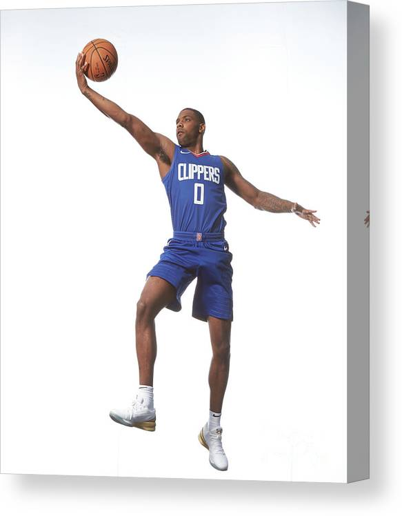 Nba Pro Basketball Canvas Print featuring the photograph Sindarius Thornwell by Nathaniel S. Butler