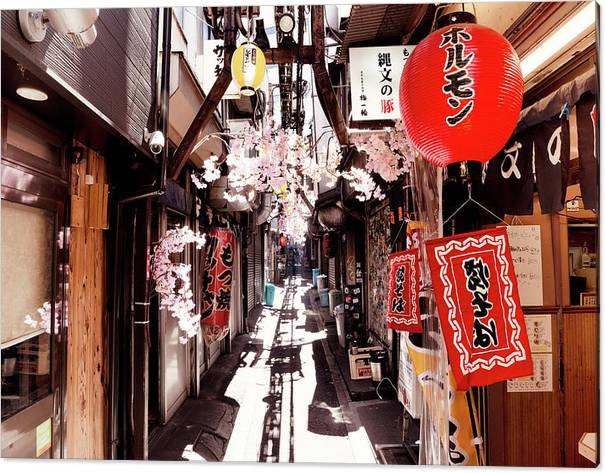 Japan Rising Sun Collection - Omoide Yokocho Shinjuku I I by Philippe HUGONNARD