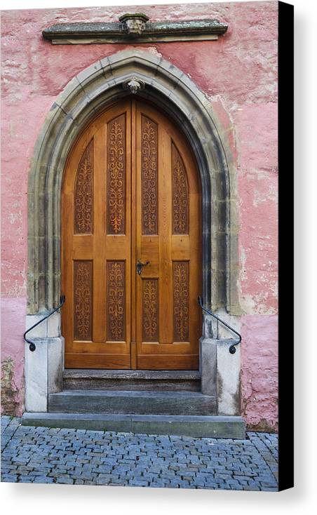 Door Canvas Print featuring the photograph Doors Of Germany by Cecil Fuselier