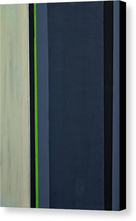 Geometric Canvas Print featuring the painting Modern Stripe 1 by Slade Roberts