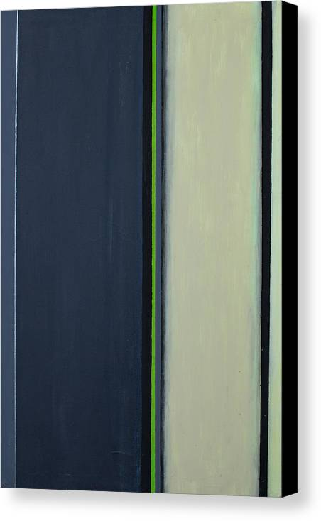Geometric Canvas Print featuring the painting Modern Stripe 2 by Slade Roberts