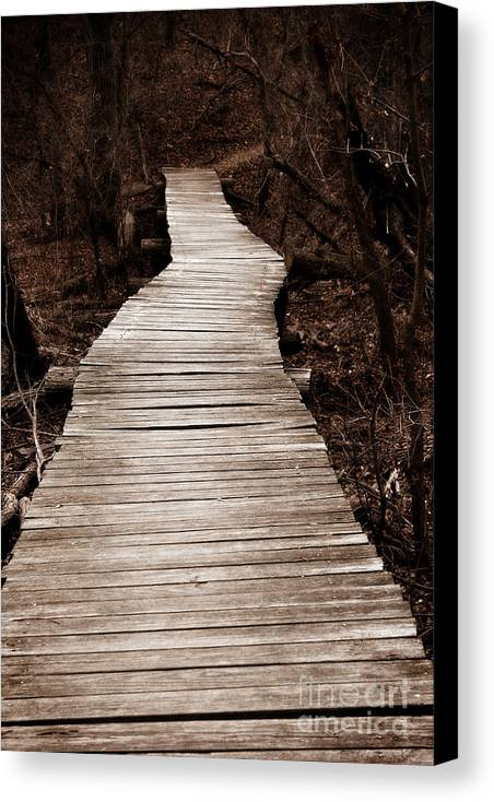Path Canvas Print featuring the photograph Path To Nowhere by Jeannie Burleson