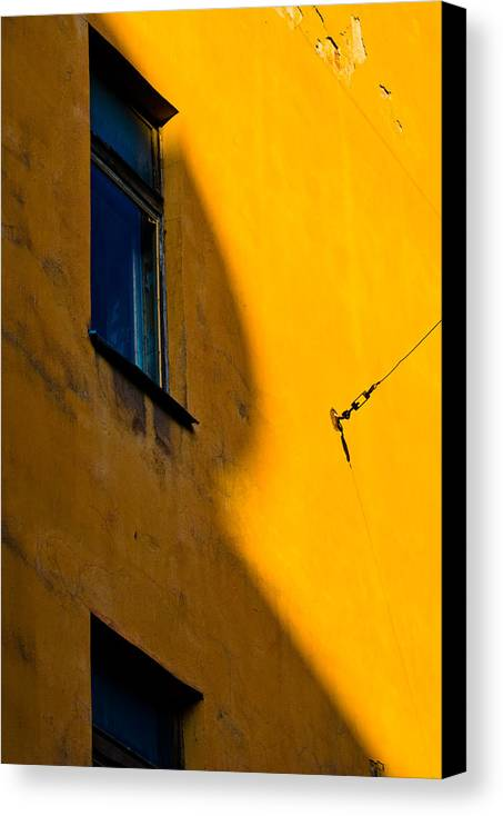 Wall Canvas Print featuring the photograph R by Vadim Grabbe