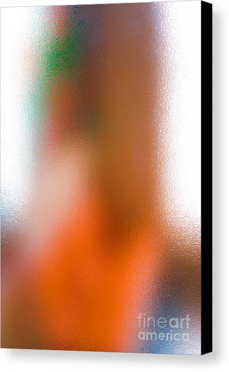 Glass Canvas Print featuring the photograph Through Glass... by Vadim Grabbe