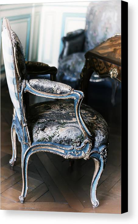 Versailles Canvas Print featuring the photograph Very Elegant - Very Marie Antoinette by Georgia Fowler