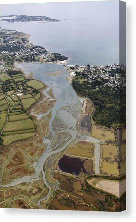 Banaster Canvas Print featuring the photograph Banaster, Morbihan by Laurent Salomon