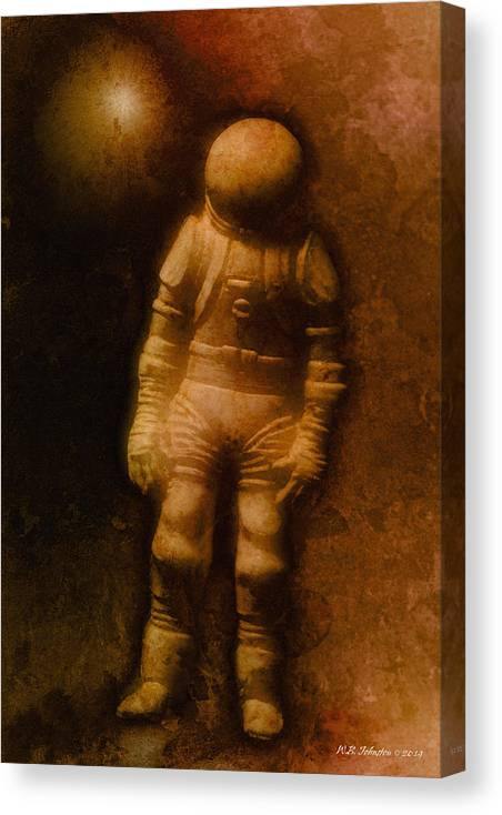 Astronaut Canvas Print featuring the photograph Days Of Future Past 1 by WB Johnston