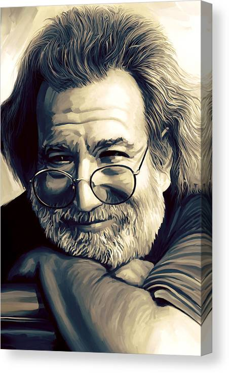 Jerry Garcia Artwork  by Sheraz A