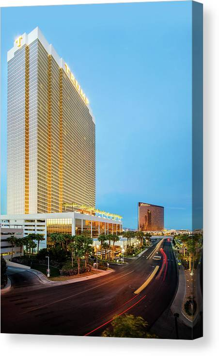 Las Vegas Canvas Print featuring the photograph Stay A While by Az Jackson