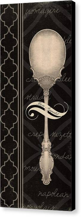Fork Canvas Print featuring the digital art The Spoon by Marilu Windvand