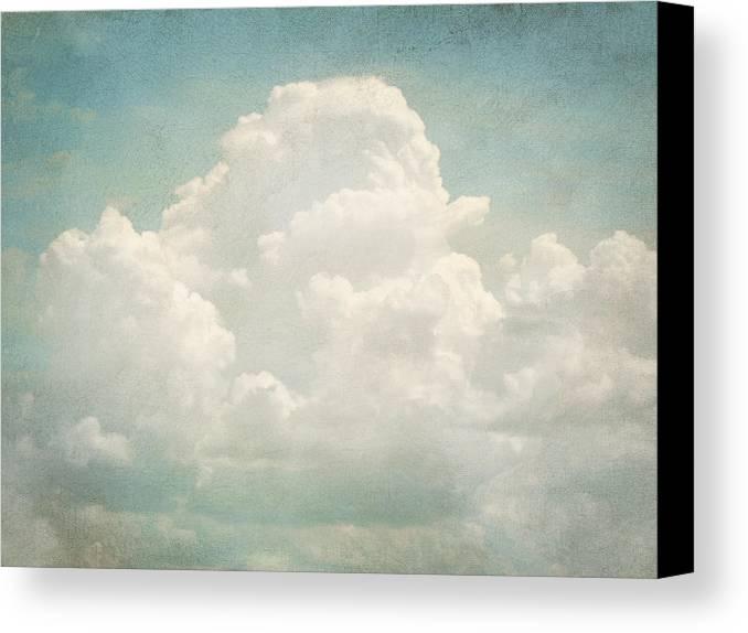Brett Canvas Print featuring the digital art Cloud Series 3 Of 6 by Brett Pfister