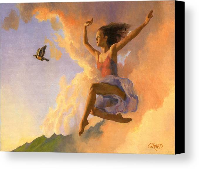 Dance Canvas Print featuring the painting Inspiration by Francois Girard