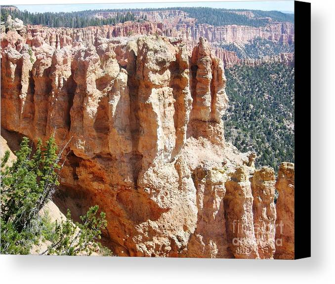 Usa Canvas Print featuring the photograph Utah Bryce Canyon by Ted Pollard