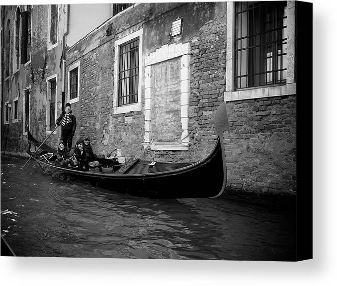 Venezia Canvas Print featuring the photograph Venezia by Aleksejs Volkovs