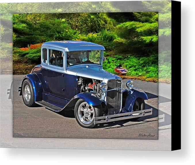 32 Ford Canvas Print featuring the photograph 32 Ford by Walter Herrit