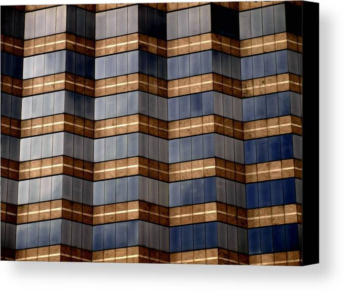 Abstract Canvas Print featuring the photograph Architecture 2 by Tom Druin