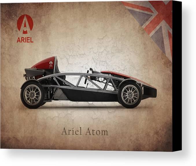 Ariel Atom Canvas Print featuring the photograph Ariel Atom by Mark Rogan