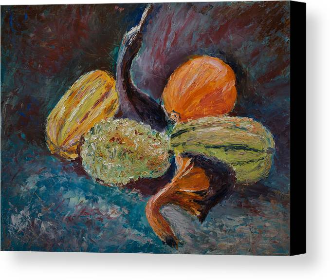 Oil Canvas Print featuring the painting Wild Bunch by Horacio Prada
