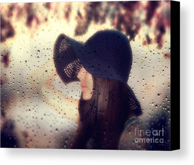 Abstract Canvas Print featuring the photograph Autumn Dream by Stelios Kleanthous
