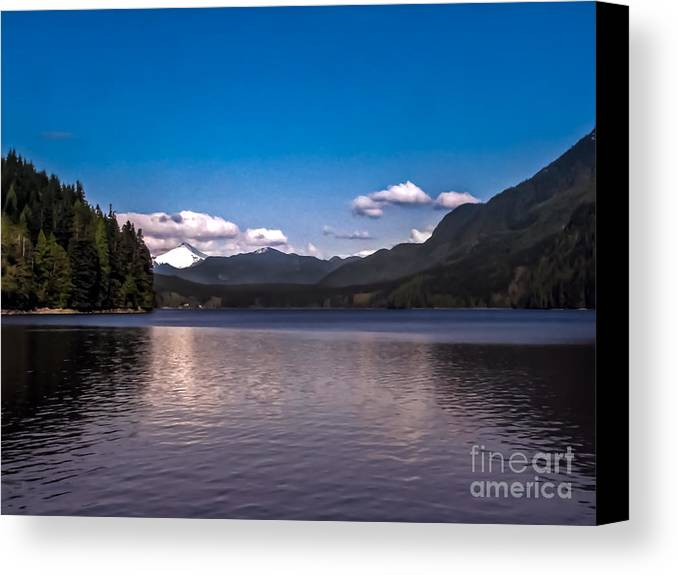 Seacapes Canvas Print featuring the photograph Beautiful Bc by Robert Bales