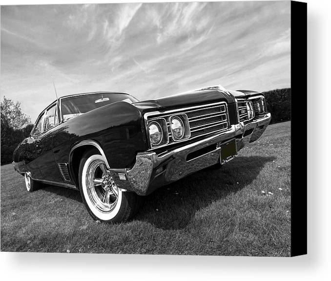 Buick Canvas Print featuring the photograph Buick Wildcat 1968 by Gill Billington