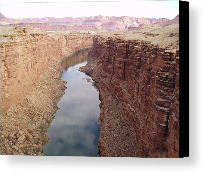Water Canvas Print featuring the photograph Calm by Sophia B