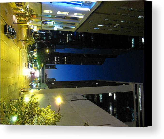 Charlotte Canvas Print featuring the photograph Charlotte Nc - 12128 by DC Photographer