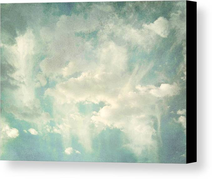 Brett Canvas Print featuring the digital art Cloud Series 1 Of 6 by Brett Pfister