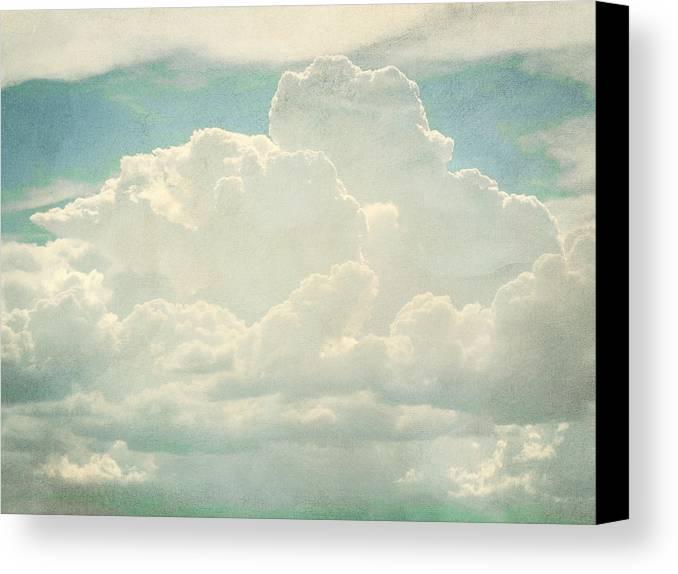 Brett Canvas Print featuring the digital art Cloud Series 2 Of 6 by Brett Pfister