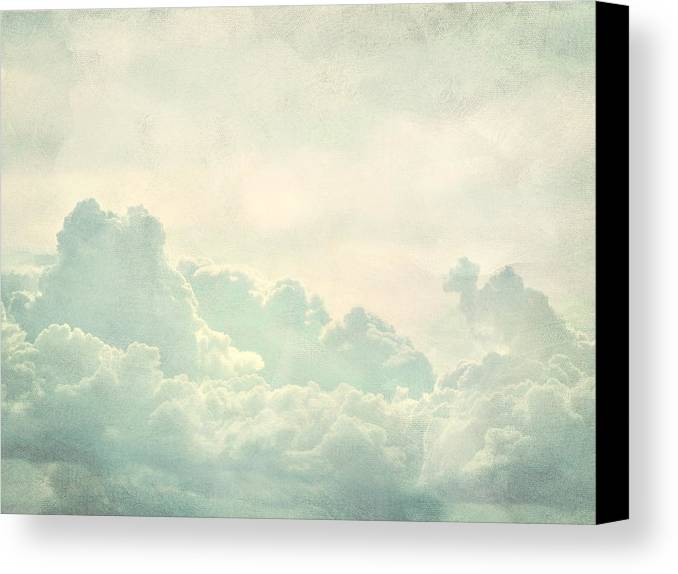 Brett Canvas Print featuring the digital art Cloud Series 5 Of 6 by Brett Pfister