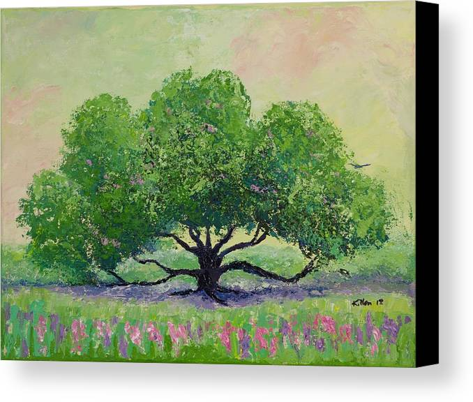 Killen Canvas Print featuring the painting Comfort by William Killen