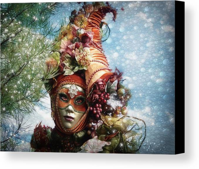 Horn Canvas Print featuring the photograph Cornucopia by Barbara Orenya