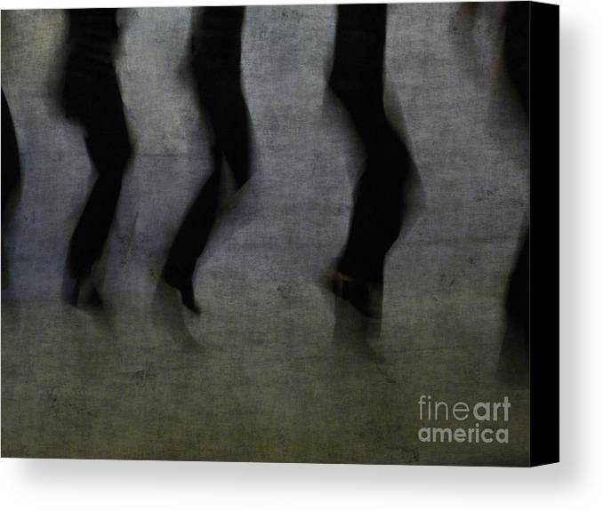 Dance Canvas Print featuring the photograph Dance by Jeff Breiman
