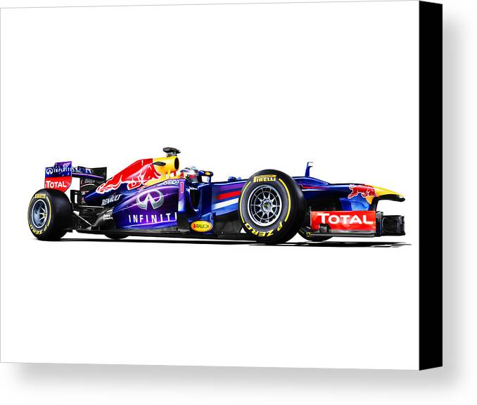 f1 red bull rb9 canvas print canvas art by gianfranco weiss. Black Bedroom Furniture Sets. Home Design Ideas